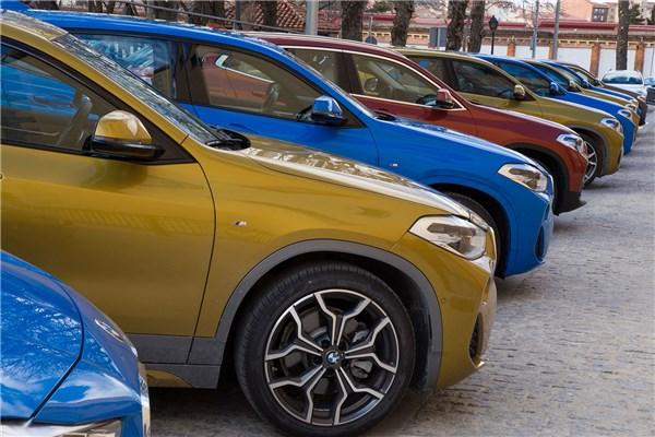 presentación BMW X2